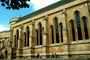 The exterior of Temple Church