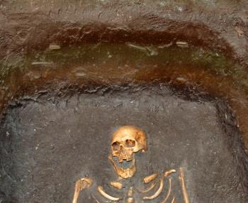 Jorvik Viking Centre York Viking Burial