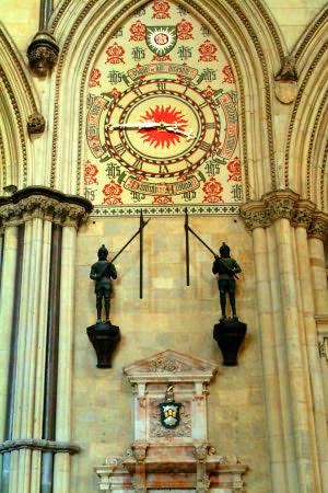 York Minster Photo Mechanical Clock
