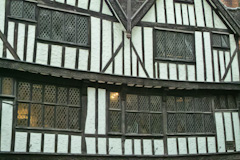 Timber-framed building near York Minster