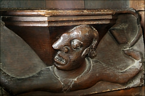 Misericord, Swinbrook