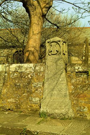Picture Of Dolly Pentreath S Memorial Mousehole Cornwall