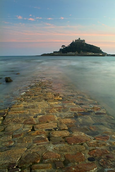 St Michael S Mount Photo Image Of The Causeway Leading