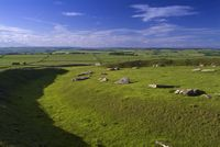 Arbor Low ditch and banks