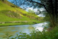 Dovedale, in the Derbyshire Peak District