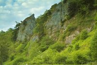 Rock formations, Dovedale