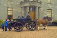 Carriage ride at Arlington Court