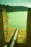 Dartmouth Castle battery