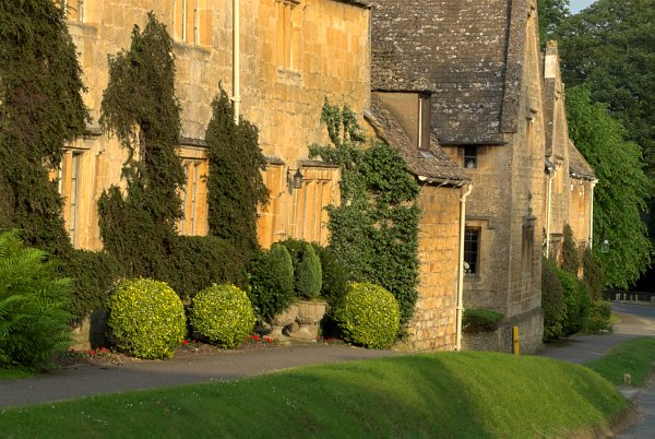 Terraced Cottages In Stanton Gloucestershire Cotswolds