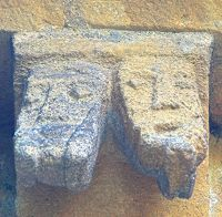 Frieze at Temple Guiting, Gloucestershire