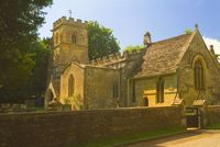Church of the Holy Rood, Ampney Crucis