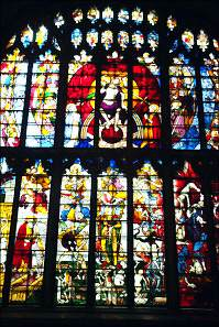 Fairford staineds glass window