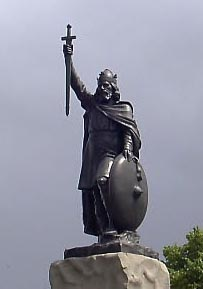 Statue of King Alfred at Winchester