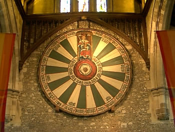 Winchester Castle - Arthur's Round Table
