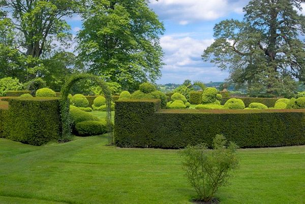 Photos Of Chastleton House Formal Topiary Garden