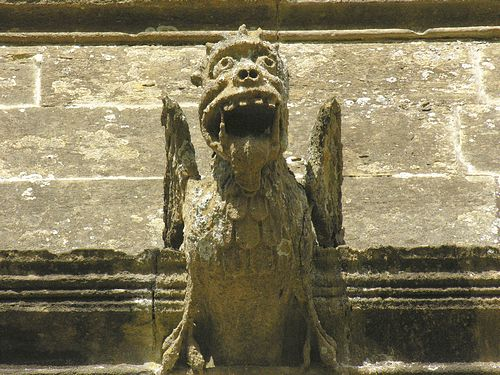 Gargoyle, St Mary's Adderbury