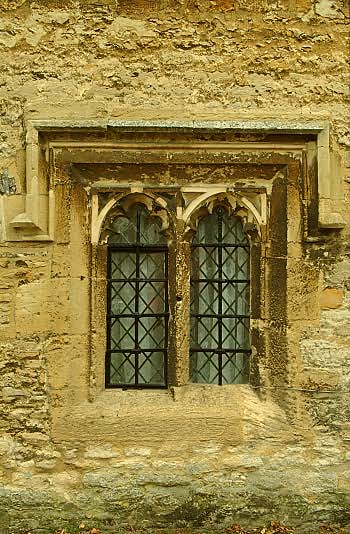 Almshouses, window detail