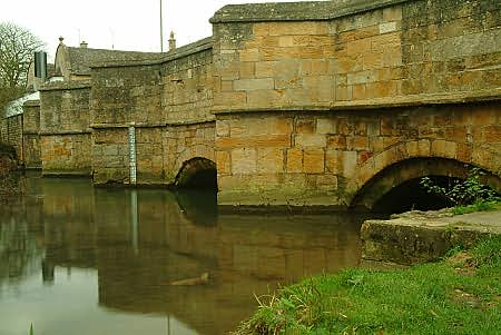 Bridge across the Windrush at Burford
