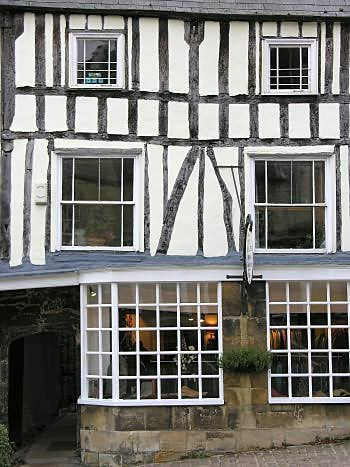 Half-timbered shop, High Street