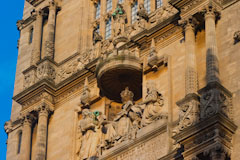 Oxford Bodleian Library tower