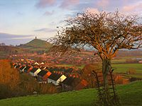Wearyall Hll and Glastonbury Tor
