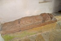 14th century effigy, Long Compton
