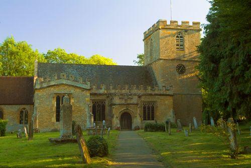 Photo Of Elmley Castle Parish Church Worcestershire England