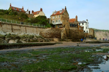 Robin Hoods Bay at low tide