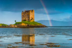 Greeting cards and prints of Scottish castles