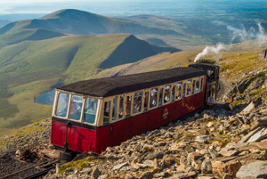 Mount Snowdon railway, Snowdonia National Park