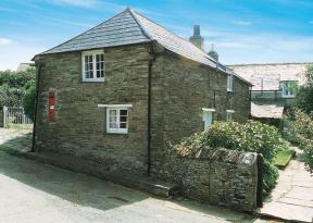 Self Catering Cottage In Cornwall Tintagel Pillar Box
