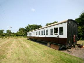 Railway Carriage Two, Stowmarket, Suffolk