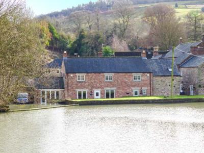 Weir Cottage on the Mill Pond, Cromford