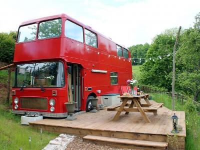 The Red Bus!, Newnham-on-Severn