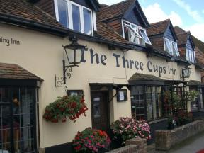 The Three Cups Inn, Stockbridge, Hampshire