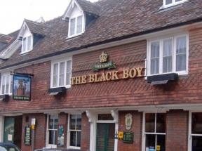 The Black Boy Public House, Bury St Edmunds, Suffolk