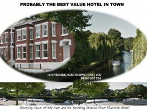 Riverside Hotel Bed And Breakfast, Norwich, Norfolk