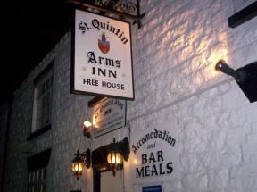 St Quintin Arms, Harpham, Yorkshire