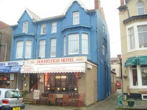 Guest House In Blackpool Lancashire The Holmeleigh Hotel
