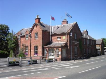 The Buccleuch Arms Hotel, Melrose, Borders