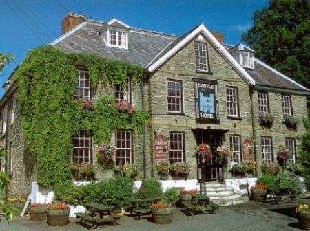Historic small hotel in bishops castle shropshire the for Small historic hotels