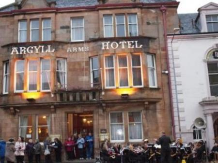 Argyll Arms Hotel Campbeltown