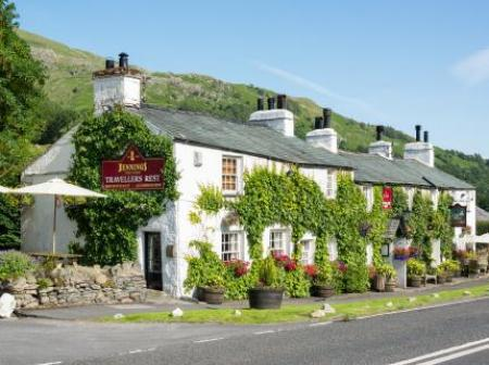 The Travellers Rest Inn, Grasmere, Cumbria