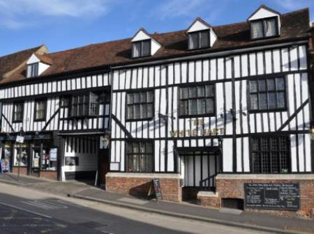 Historic small hotel in st albans hertfordshire the for Small historic hotels