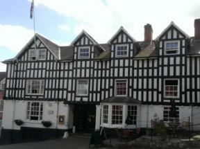 Historic small hotel in montgomery powys dragon hotel for Small historic hotels