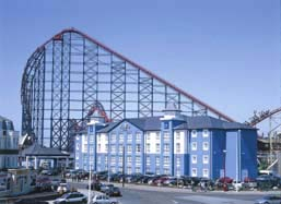 The Big Blue Hotel, Blackpool