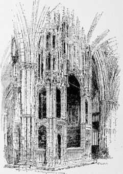 Cardinal Beaufort\'s chantry at Winchester Cathedral