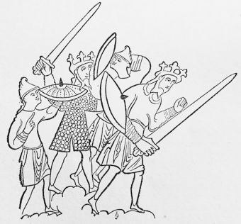 Saxon soldiers