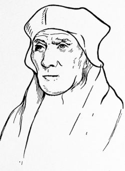John Fisher, Bishop of Rochester, after the drawing by Holbein