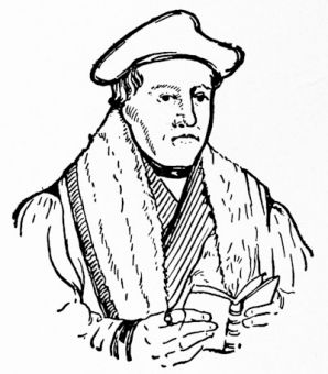 Thomas Cranmer, after Holbein